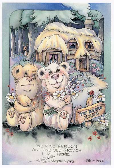 The Bears House... - DreamKeeper Prints
