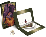 Iris / Fire Over The Islands - Notecard Set
