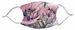 Face Mask - Pink Poppies 500