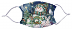 Face Mask - Snow Family 897