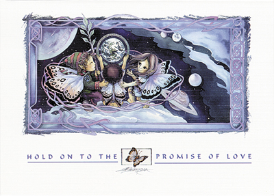 Hold On To The Promise Of Love - Art Card