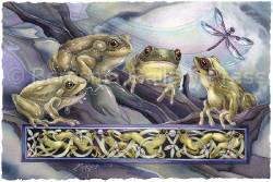 Knotty Frogs - Prints