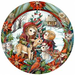 First Christmas Series / Christmas Day - Collectors Plate