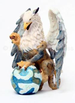 Mythological Creatures / Tiger Gryphon - Figurine