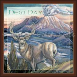 Deer / From The Ashes Of The Past... A New Day - Tile Box