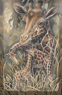 Zoo Misc. / Gentle Presence - 11 x 17 in Poster