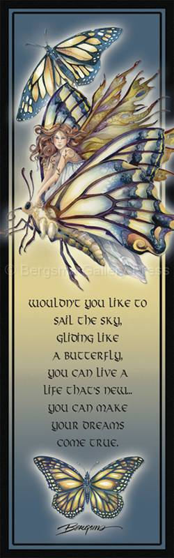 Faeries / Chrysalis... Who Knows What Magic Tomorrow May Bring - Bookmark