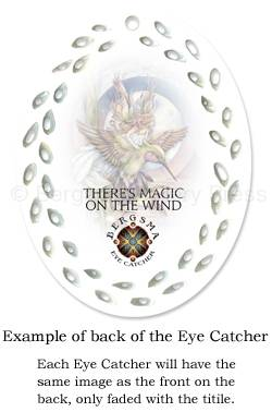 Example of the back of the Eye Catcher