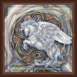 Mythological Creatures (Pegasus) / May Your Dreams Take Flight - Tile Box