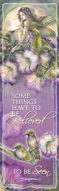 Faeries / Some Things Have To Be Believed To Be Seen - Bookmark