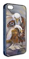 'Eagle Spirit' iPhone 5 Soft Shell Case