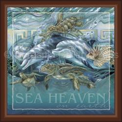 Dolphins / Sea Heaven On Earth - Tile Box