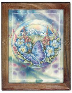 Butterflies / Life Is A Daring Adventure... - Framed Tile