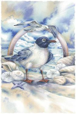 2011/ Gulls Just Wanna Have Fun- Original Painting