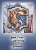 Native American / Just Keep Dancing... - Magnet