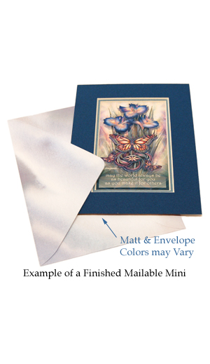 Example of Finished Mailable Mini