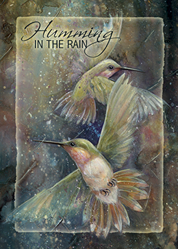 'Humming in the Rain' Magnet