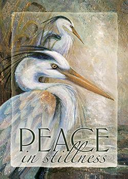 'Peace In Stillness' - Magnet