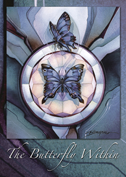 The Butterfly Within - Magnet