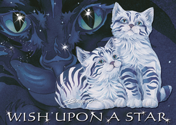 Cats / Wish Upon A Star - Magnet