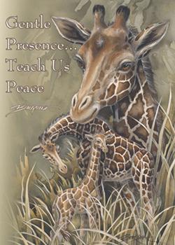 Giraffes / Gentle Presence - Magnet