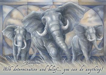 Elephants / Spirit Of The Earth - Magnet