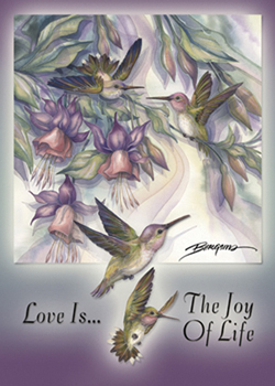 Love Is The Joy Of Life - Magnet