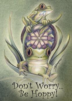 Don't Worry, Be Hoppy - Magnet