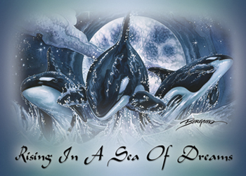 Rising In A Sea Of Dreams - Magnet