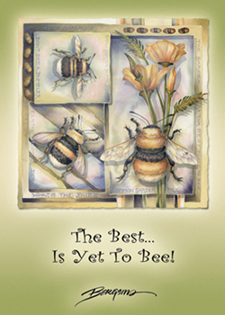 The Best Is Yet To Bee - Magnet