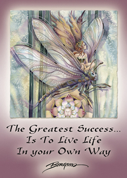 Dragon Rider... The Greatest Success Is To Live Life In Your Own Way - Magnet