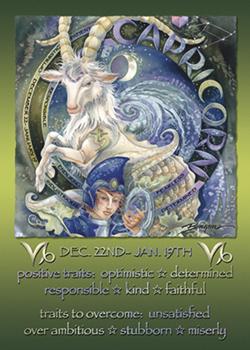 Capricorn - Magnet