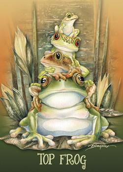 Top Frog - Magnet