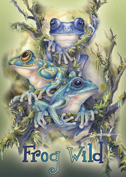 Frog Wild - Magnet