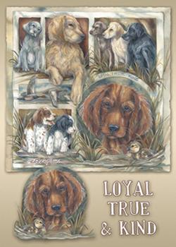 Dogs / Loyal, True & Kind - Magnet