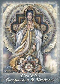 Spiritual Icon Series / Quan Yin - Magnet
