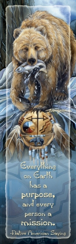 Bears (Grizzly) / Bear Clan - Bookmark
