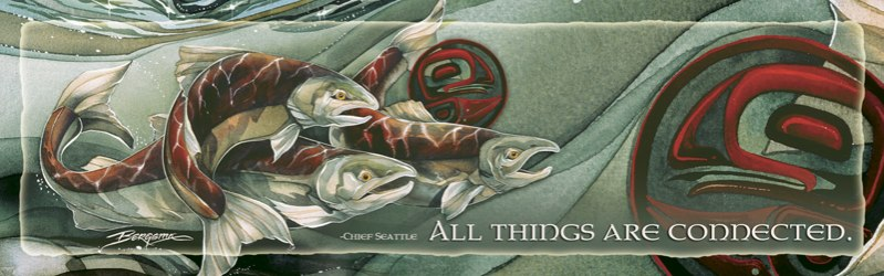 Fish (Salmon) / Journey Home- Bookmark