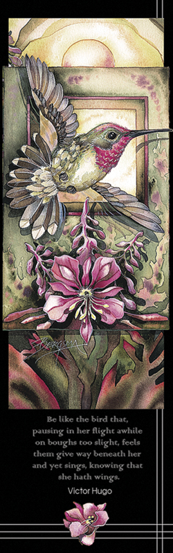 Hummingbirds / Ho Hum - Bookmark