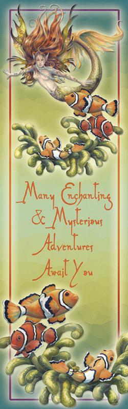 Mermaids & Sea Faeries / Let Dreams Live - Bookmark