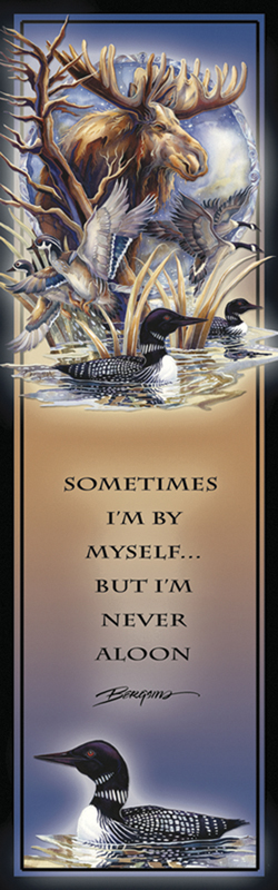 Moose / Sometimes I'm By Myself, But I'm Never A Loon - Bookmark