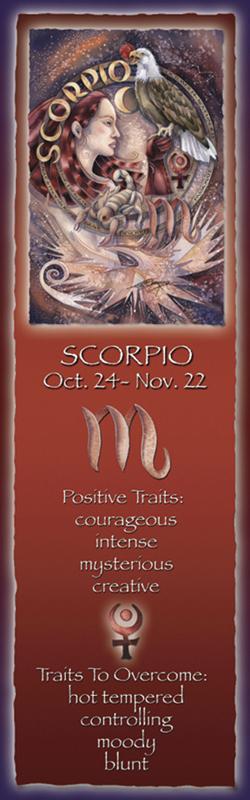 Zodiac Series / Scorpio - Bookmark