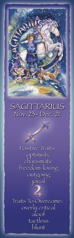 Zodiac Series / Sagittarius - Bookmark