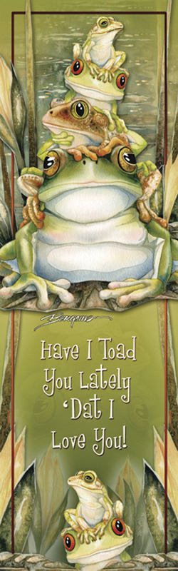 Frogs / Top Frog - Bookmark