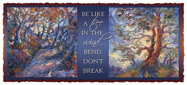 Be like a tree in the wind... bend, don't break - Mug