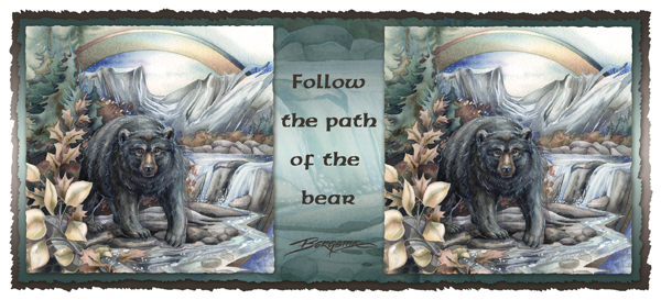 Follow The Path Of The Bear - Mug