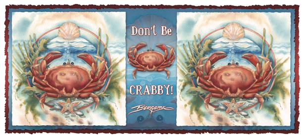 Don't Be Crabby - Mug