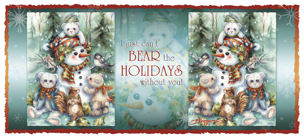 I Just Can't Bear The Holidays Without You -  Mug