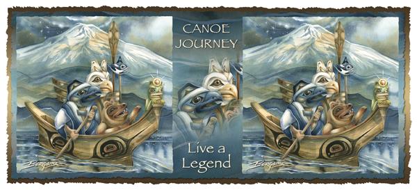 Canoe Journey -  Mug