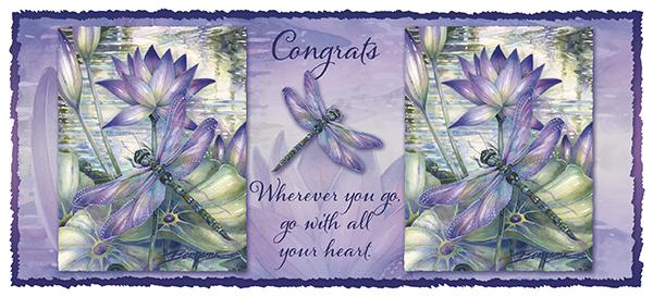Congrats... Wherever you go, go with all your heart - 15oz. Ceramic Mug